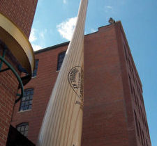 Largest Baseball Bat in the World!